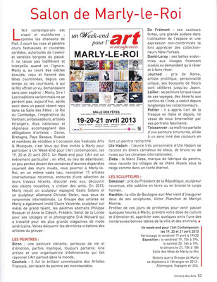 2013_0417 Marly le Roi - Univers des Arts