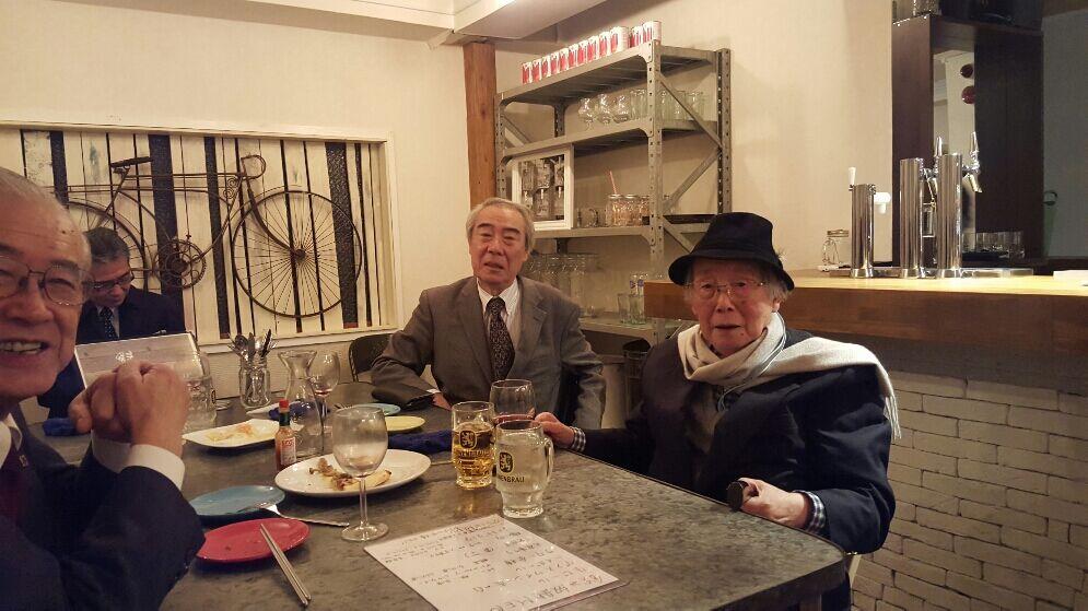 中小企業診断士協会東京城西支部国際化コンサル研究会の重鎮の皆様。