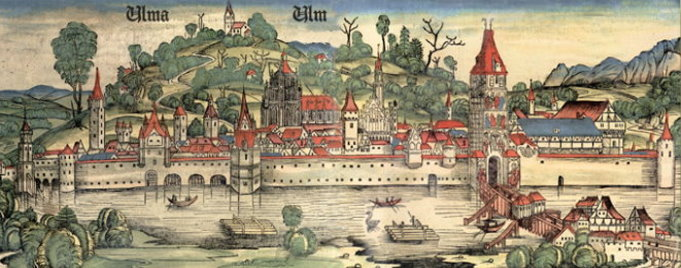 Ulm um 1490