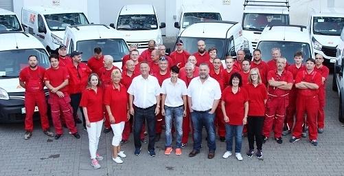 Das sind Wir! Unser Team von R.S.Elektrobau GmbH.