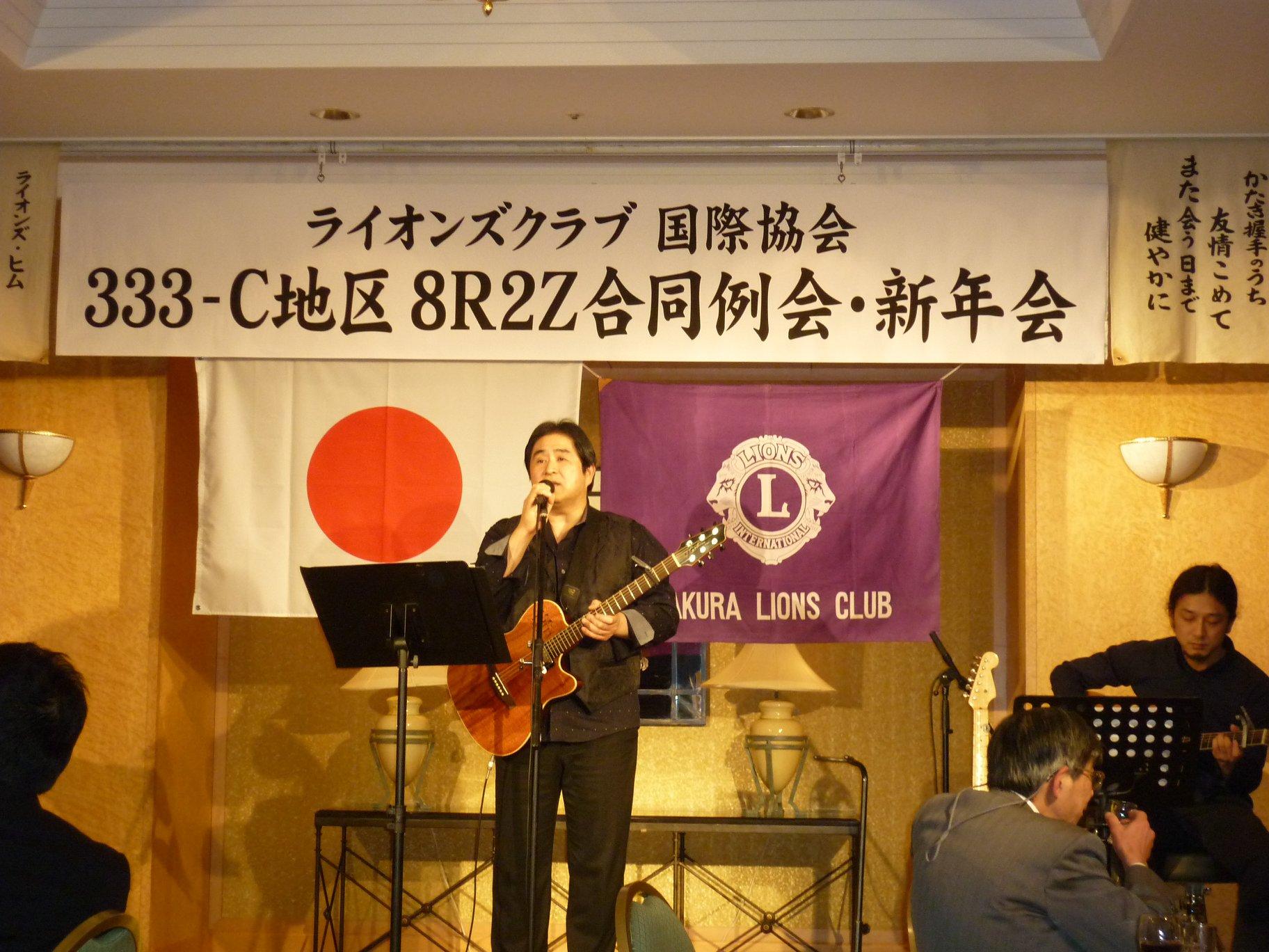 小田和正さんの物真似、素晴らしい歌声で、昨年フジテレビの物真似コンテストでVIPを頂いたそうです。