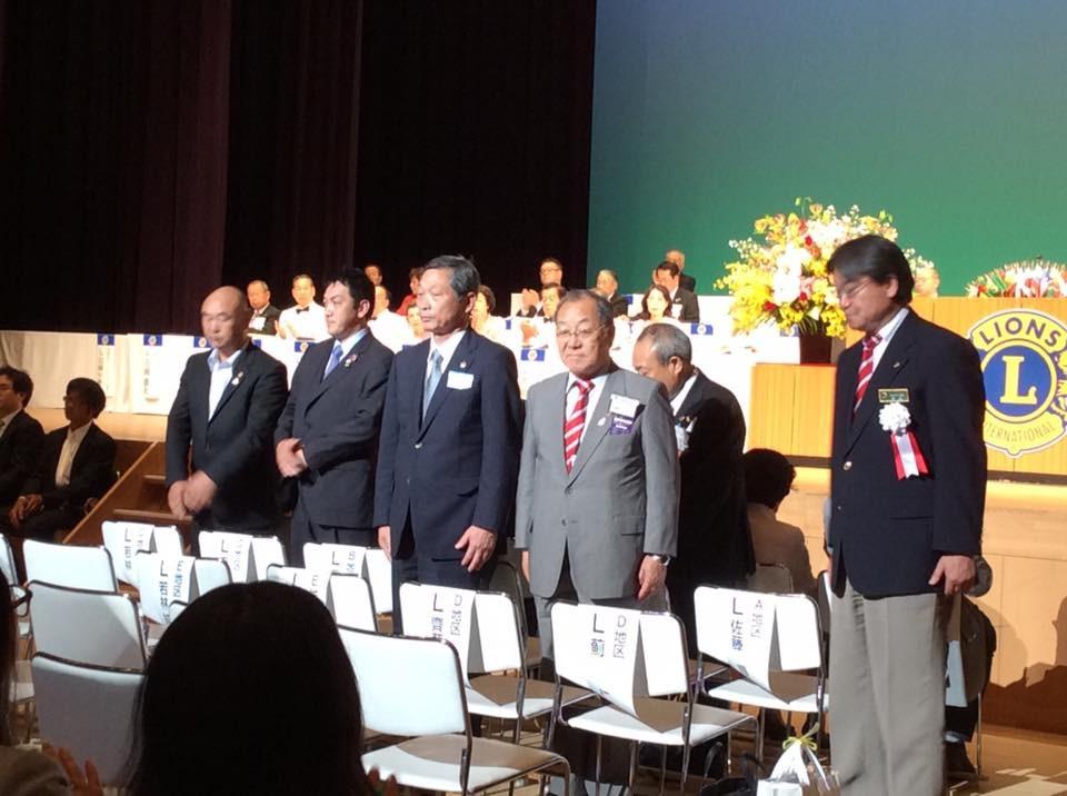 佐倉中央LC,L密本の「GMT功労者」受賞,おめでとうございます。