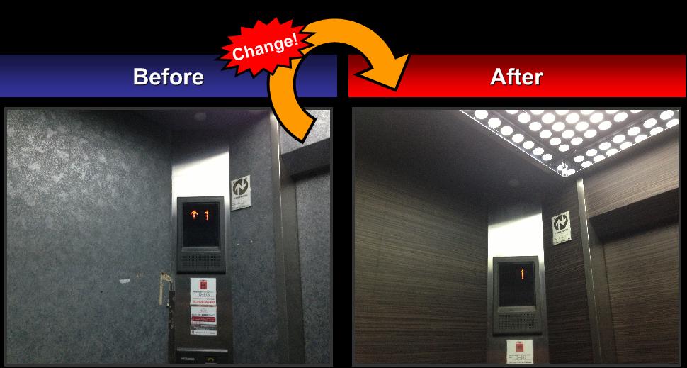 オフィスビル-エレベーターB-1
