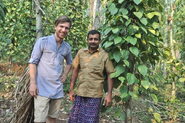 Richard mit dem Pfefferbauern Baju aus aus Pulpally