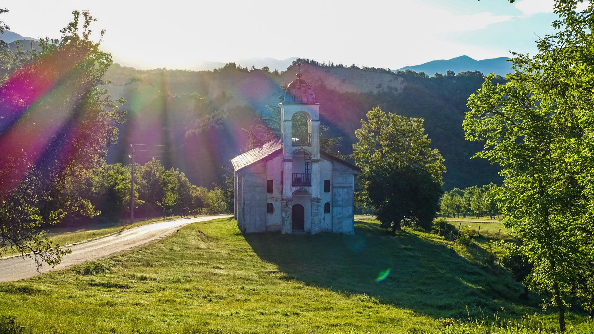Kleine Kirche beim Kloster Roschen