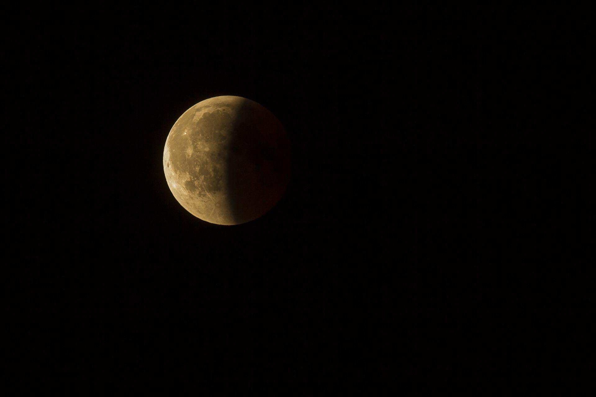 Pleine Lune et éclipse lunaire ...