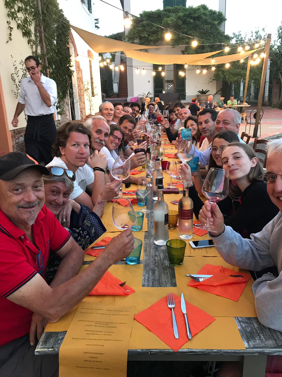 La cena al S.S. Annunziata