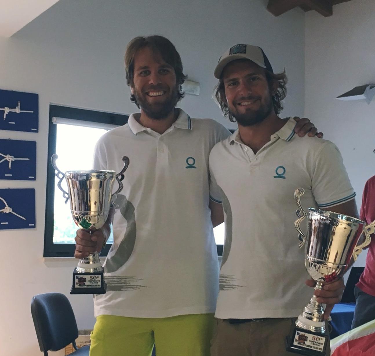 Carlo Zorzi e Mattia Bordon Campioni italiani Fireball 2019 - Marina di Salivoli
