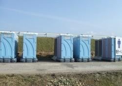 某イベントの仮設トイレ