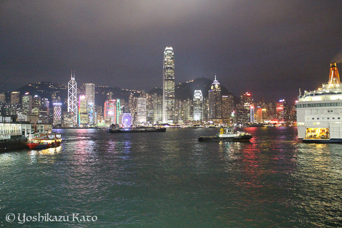香港の物価は高くなったが、夜景の美しさは健在