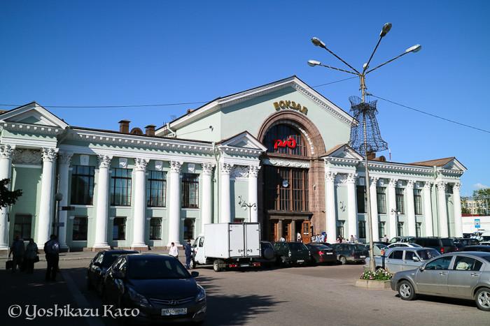 町の玄関口、ヴィボルグ駅