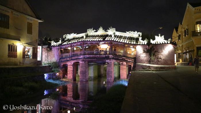 ホイアンで有名な日本橋