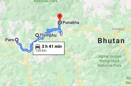 Bhutan 6 Tage Rundreise Bhutan
