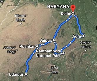 Rundreise Nordindien mit Safari 8 Tage