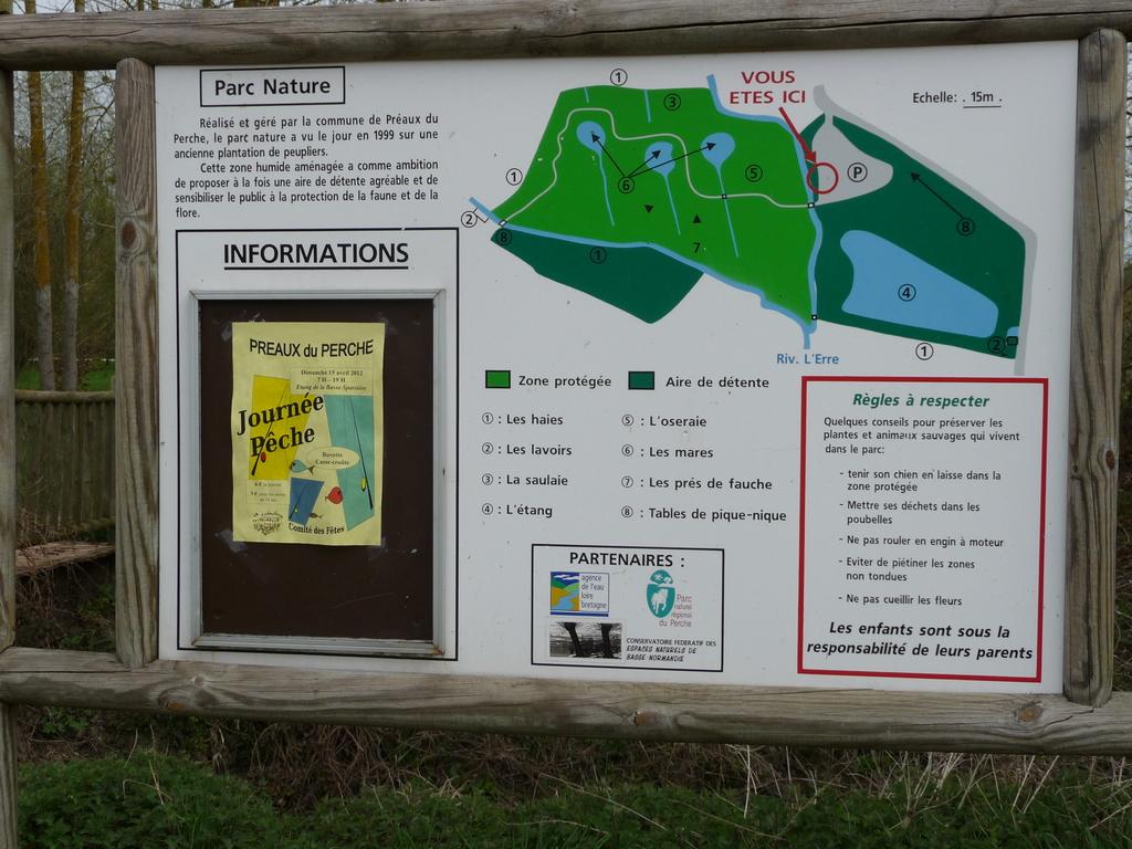Le parc nature de Préaux