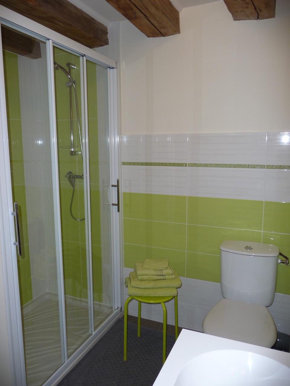 Salle d'eau privative - Gite du Boistier - Préaux du Perche