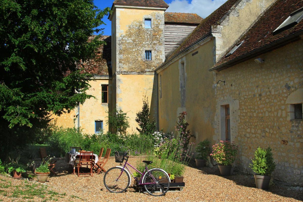 Jardin privatif - Gite du Boistier - Préaux du Perche (Gîtes de France)