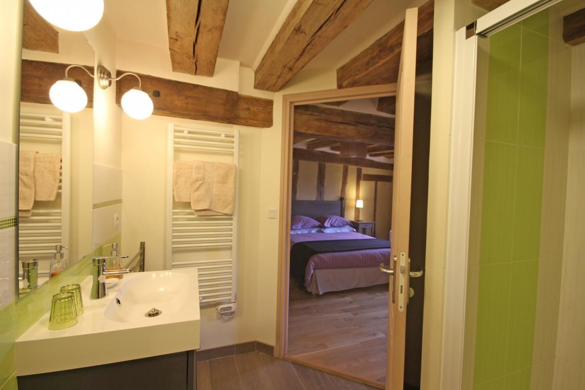 Salle de bain - Gite du Boistier - Préaux du Perche (Gîtes de France)