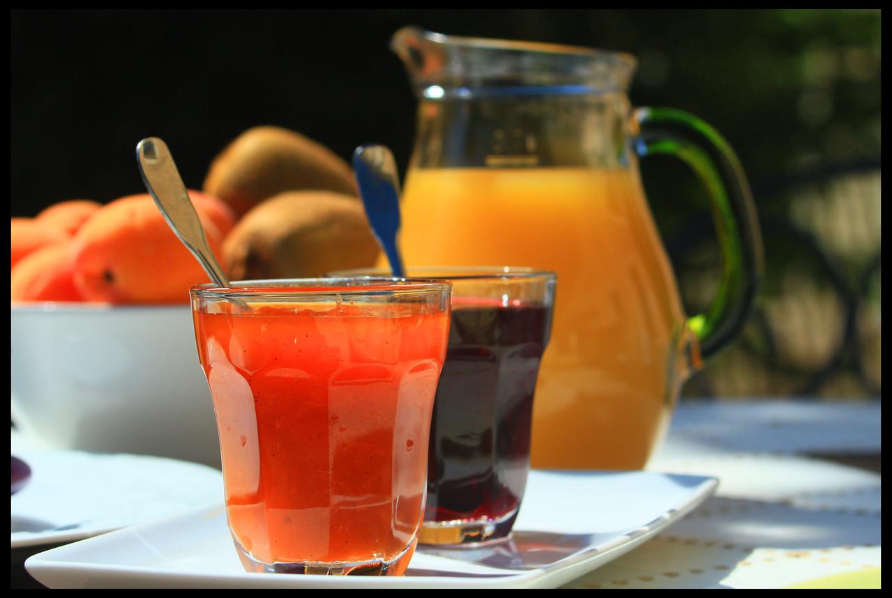 Petit déjeuner - Gite du Boistier - Préaux du Perche