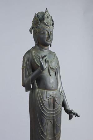 法隆寺の観音菩薩立像(夢違観音)