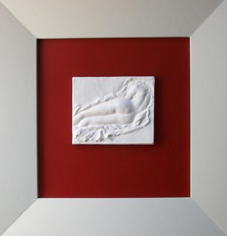 """Porzellan-Relief-Bild """"Kleine Venus"""""""
