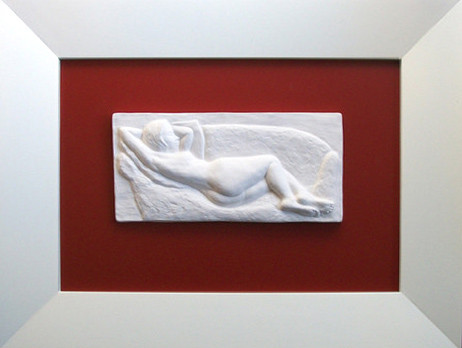Große Venus, Porzellan-Relief-Bild