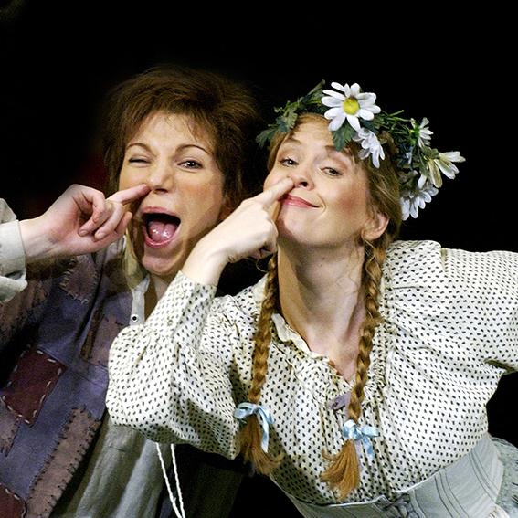 """Birgid Steinberger als Gretel in """"Hänsel und Gretel"""" / Foto: © Dimo Dimov"""