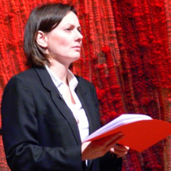 """Anna Maria Pammer beim """"Wittgenstein-Projekt"""""""