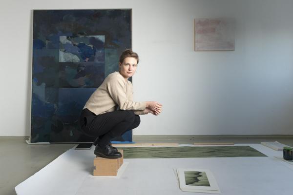 Porträt Mara Diener, Nominée Neuköllner Kunstpreis 2020,  Foto: Ines Borchart
