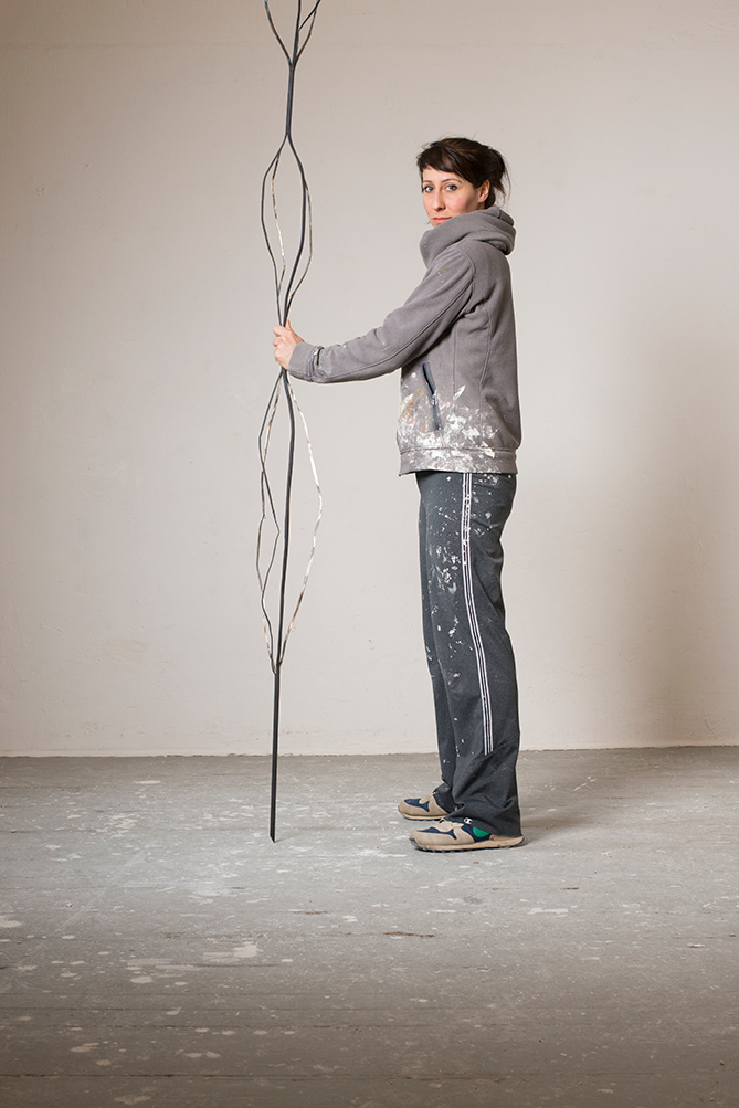 Porträt Kristina Berning, Nominée Neuköllner Kunstpreis 2018, Foto: Ines Borchart
