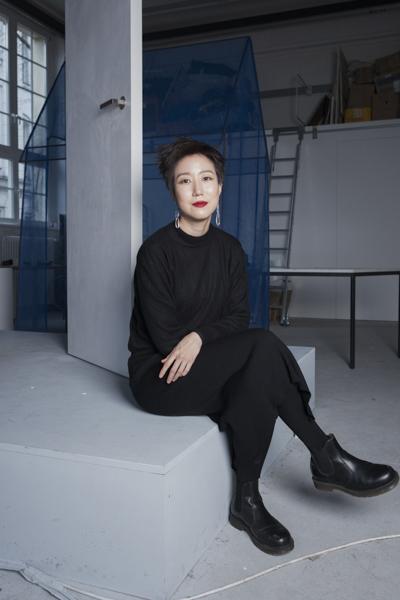 Porträt Jinran Ha, Nominée Neuköllner Kunstpreis 2020,  Foto: Ines Borchart