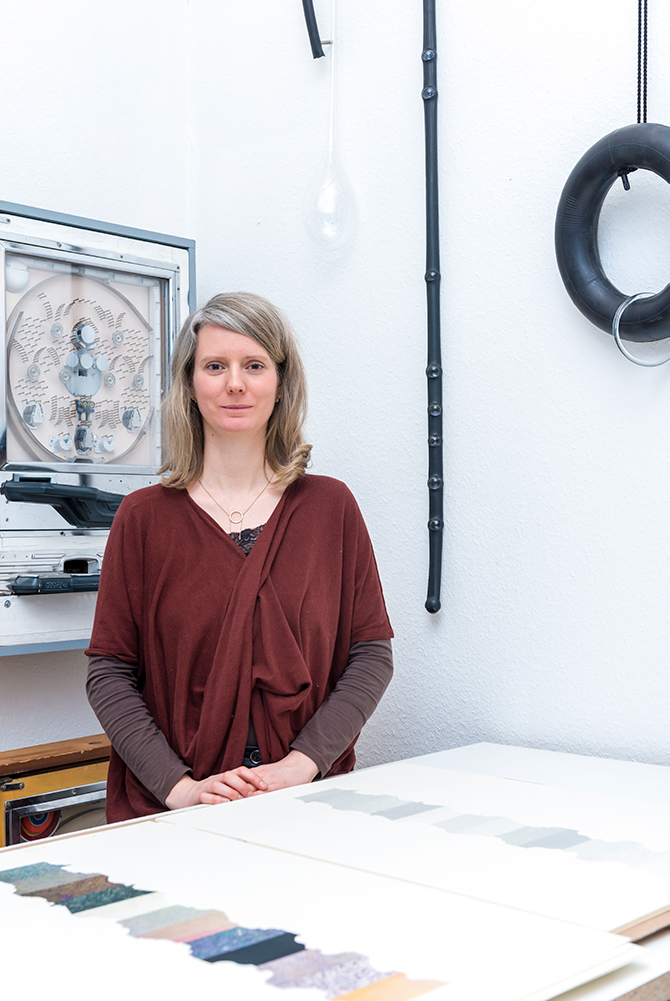 Porträt Katrin Wegemann, Nominée Neuköllner Kunstpreis 2017, Foto: Ines Borchart
