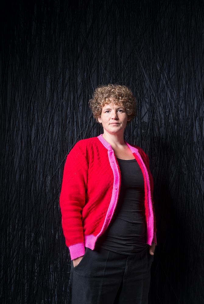 Porträt Lisa Premken, Nominée Neuköllner Kunstpreis 2019, Foto: Ines Borchart
