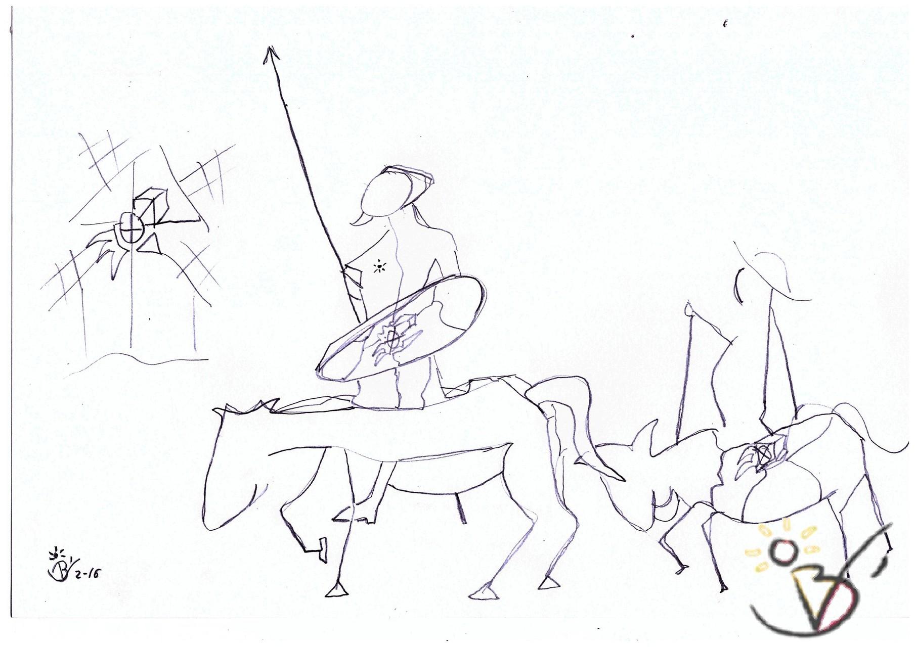 ARTeBenitez CONMEMORACIÓN IV A MIGUEL DE CERVANTES