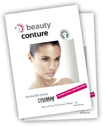 Foto: beauty conture Infoflyer - PUREBEAU academy, Hamburg für PERMANENT MAKE UP & FIBROBLAST