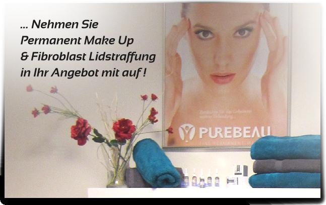 Foto: Permanent Make Up, die dauerhafte Schminkmethode & PUREBEAU Fibroblast, Hautstraffung ohne OP