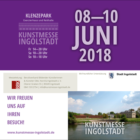 Linda Ferrante auf der Kunstmesse Ingolstadt 2018