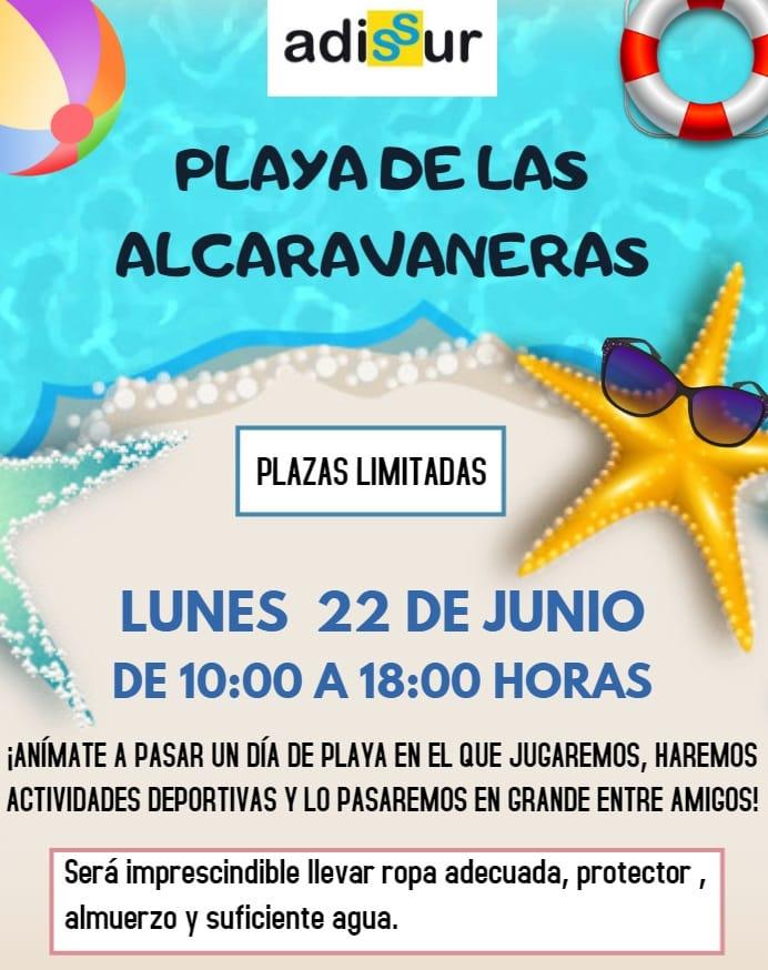 Excursión Playa de las Alcaravaneras - Asociación Adissur