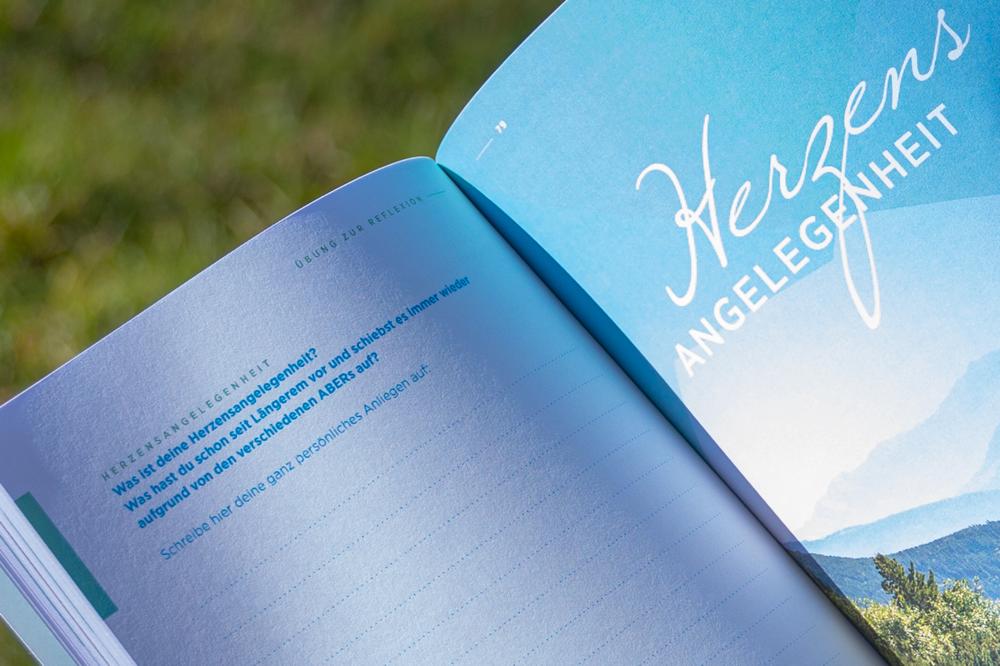 Dankbarkeits- und Fokus Journal