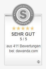 Kundenbewertungen Shopvote