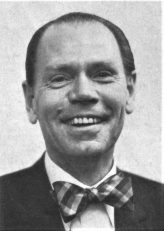 Gunther v. Gersdorff. Hier auf einem Bild von 1980. Er war Buch- & Kunsthändler in Düsseldorf.