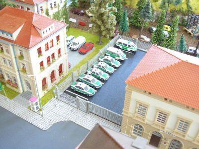 Blick auf die Polizeiinspektion Dohnsberg Nord (Aufnahme aus dem Jahr 2004)