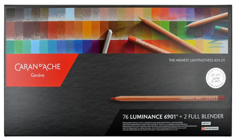 Classification couleurs Luminance de Caran d'Ache