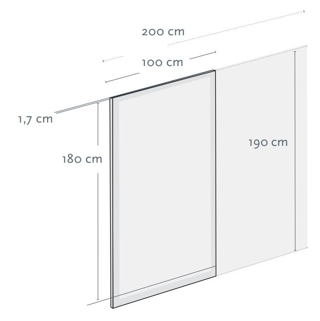 Sichtschutz aus Glas für den Garten und den Außenraum