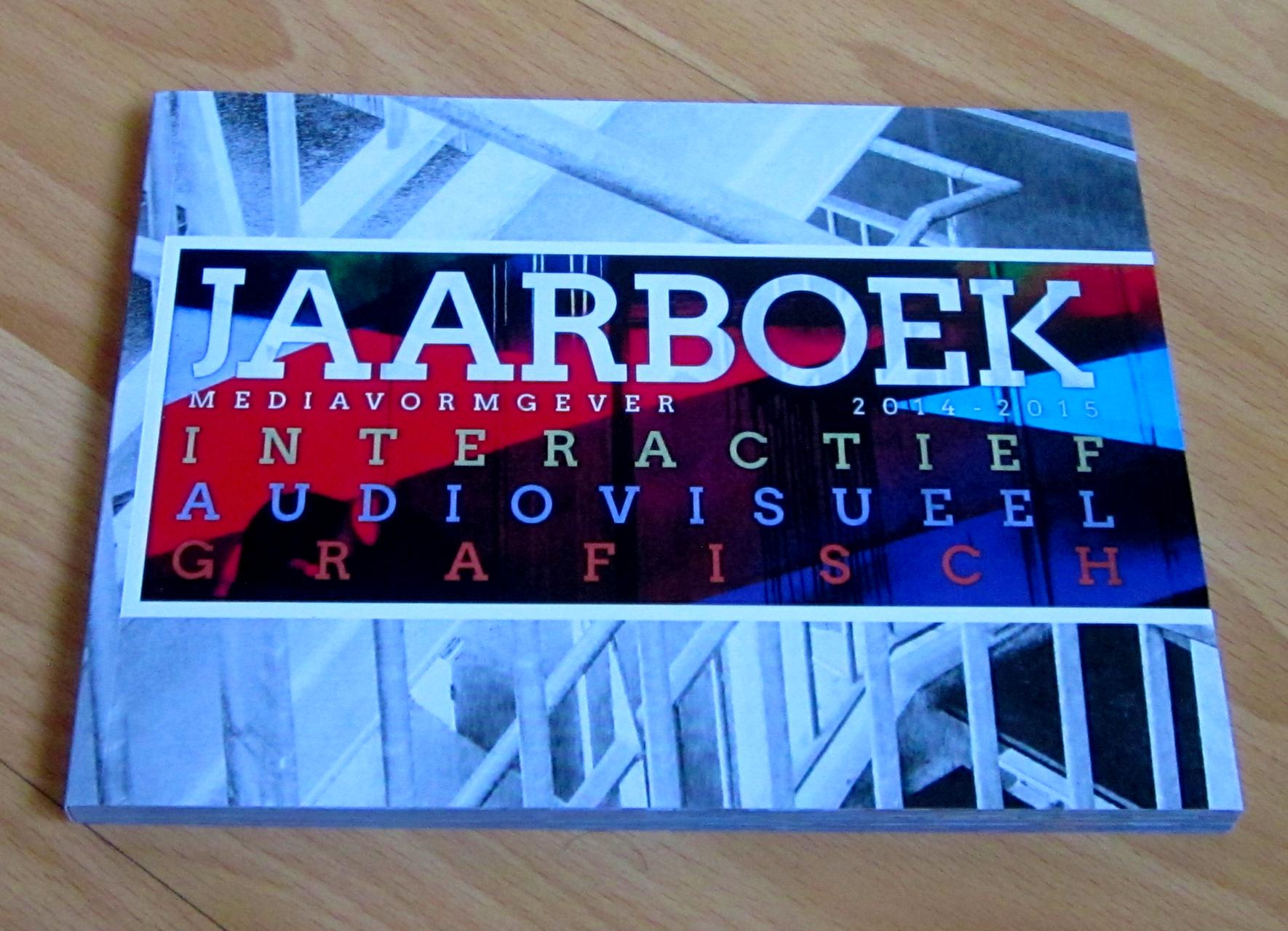 Jaarboek Media Design, Drukwerk, creatief, grafisch, Nijmegen