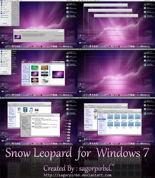 tema mac para windows 7