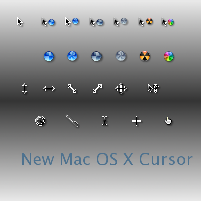 Cursor Mac paraWindows XP, VISTA, 7
