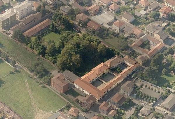 Vista aerea del Podere Galluzzi (2005)