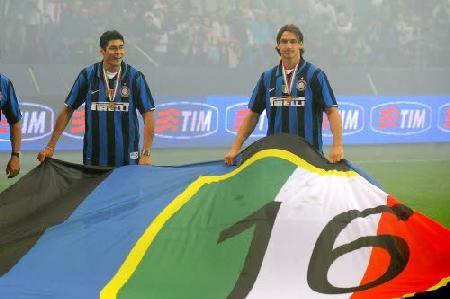 Campioni per la 16a volta - Cruz e Ibrahimovic