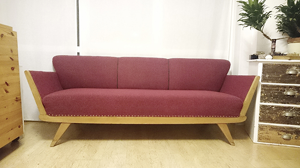 Sofa bordeaux